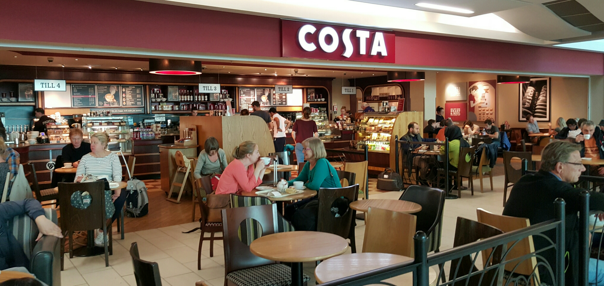 costa coffee Costa coffee provides the world's finest coffees, poured up with the finest level of  personal service take your pick at city centre deira, dubai.